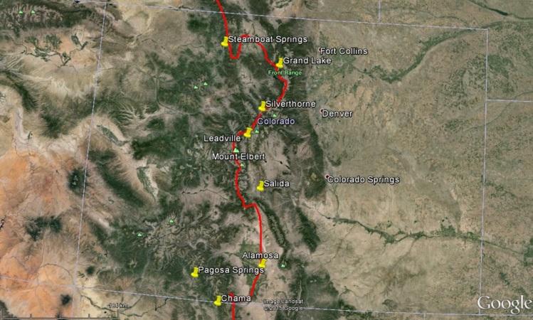 Map of ADA - Colorado