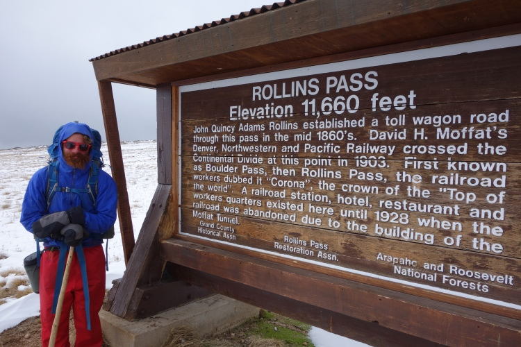 Rollins Pass. Where the railway crossed at over 11 000ft!