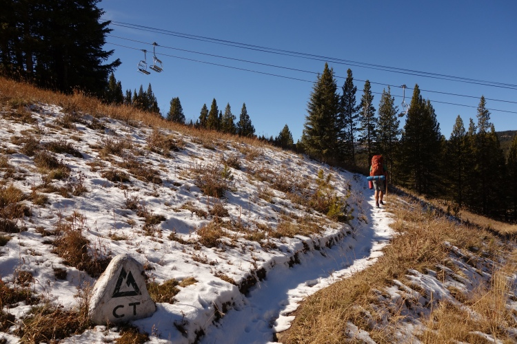 Ignore the open ski hills... Gulp! They have been making snow, so some have already opened.