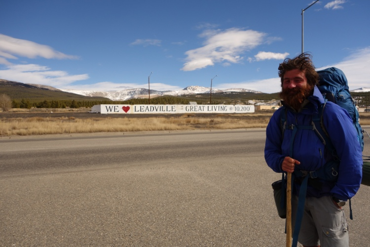 The town of Leadville.