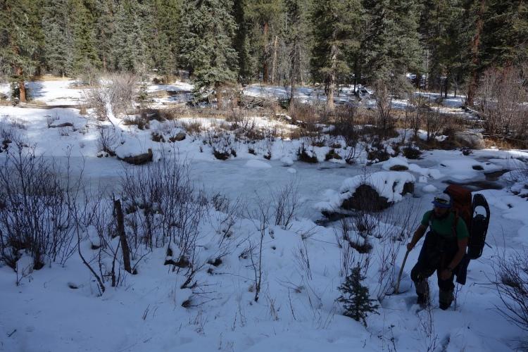 Canada Creek (but spanish sounding...)!
