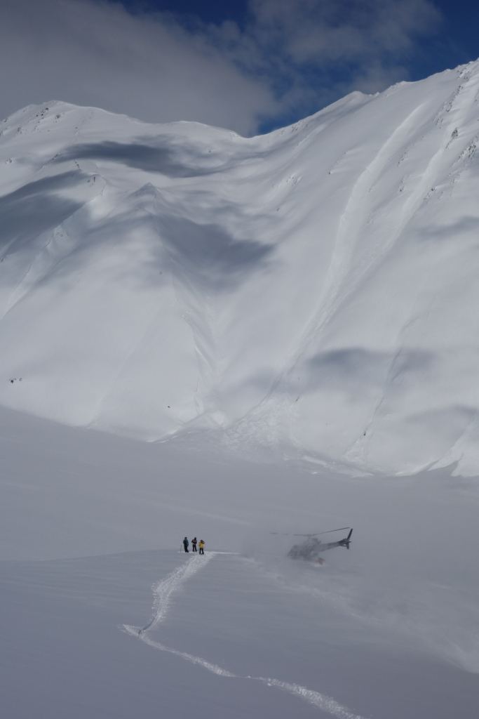 We do get to go heliskiing though and it's pretty awesome.
